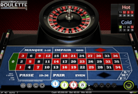 French roulette game review
